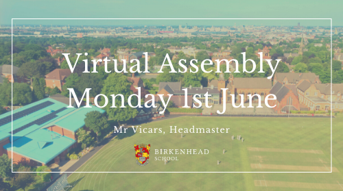 Virtual Assembly w/c 1st June